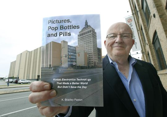 K. Bradley Paxton with his Kodak book. (Photo: CARLOS ORTIZ/@cfortiz_dandc/STAFF PHOTOGRAPHER )
